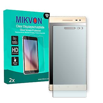 Lenovo Phab 2 Pro Screen Protector - Mikvon Clear (Retail Package with accessories) (intentionally smaller than the display due to its curved surface)
