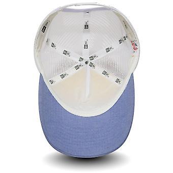 Nuova Era MLB NY Yankees Oxford Trucker Cap - blu cielo