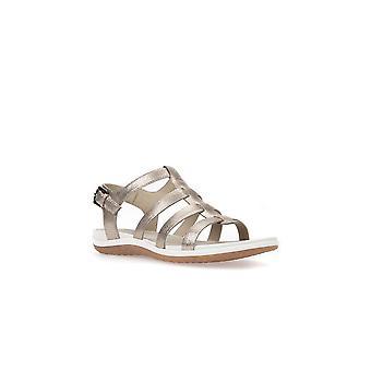 Geox D Sandal Vega leda D72R6A000BNC9003 universal kvinnor skor