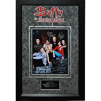 Buffy The Vampire Slayer - Signed by Cast of TV Series - Framed Artist Series