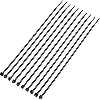 Cable tie 200 mm Black UV-proof KSS 407765