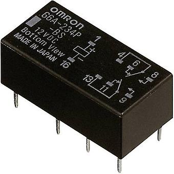PCB relays 24 Vdc 2 A 2 change-overs Omron G6A-274