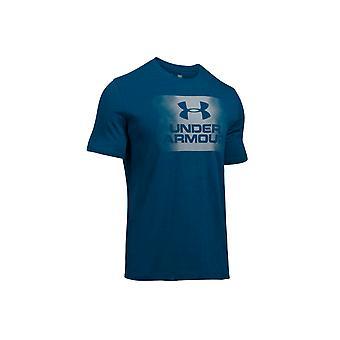 UA oversprøjtning Logo SS Tee 1289894-997 Herre T-shirt