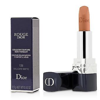 Christian Dior Rouge Dior Couture Colour Comfort & Wear Matte Lipstick - # 136 Delicate Matte - 3.5g/0.12oz