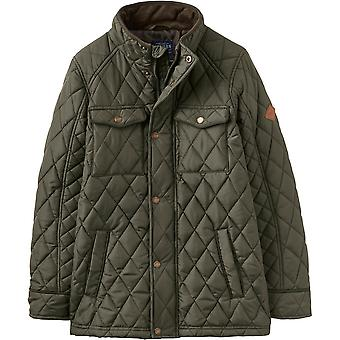 Joules Boys Stafford Warm Quilt Padded Biker Style Jacket