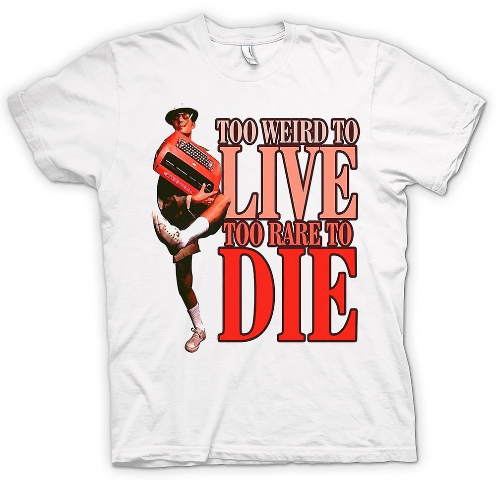Mens T-shirt - te vreemd Live-te zeldzaam om te sterven - Fear And Loathing in Las Vegas