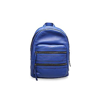 Marc Jacobs Women's Leather 'Biker' Backpack Blue