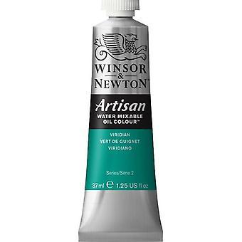 Winsor & Newton Artisan vatten Mixable Oil Colour 37ml (692 Viridian S2)