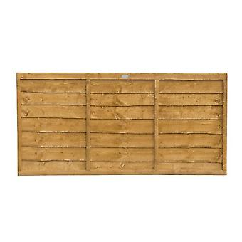 Forest Garden 3ft Lap Wooden Fence Panel