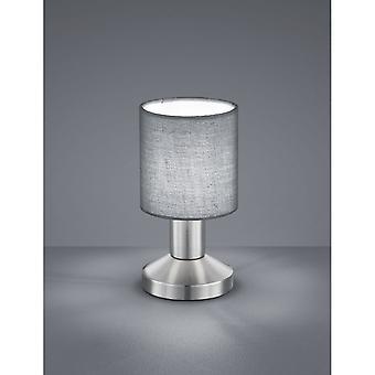 Trio belysning Garda Modern Nickel Matt metall bordslampa