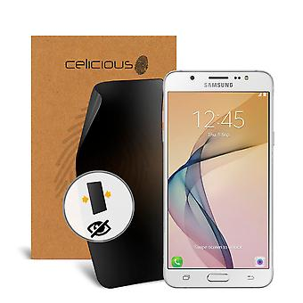 Celicious Privacy 2-Way Anti-Spy Filter Screen Protector Film Compatible with Samsung Galaxy On8
