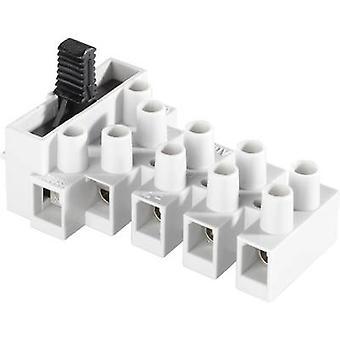 Adels-Contact 171303V9 Screw terminal flexible: 0.5-4 mm² rigid: 0.5-4 mm² Number of pins: 3 1 pc(s) Ecru