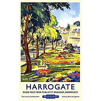 Harrogate (Old Rail Ad.) Fridge Magnet