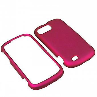 Unlimited Cellular Rubber Essentials Slim and Durable Rubberized Case ZTEN850PCLP014 for ZTE Fury/Director N850 (Pink)
