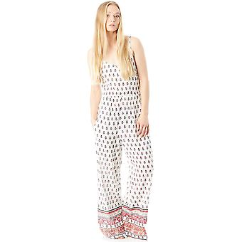 Oneill White Aop-Pink-Purple In Style Womens Jumpsuit