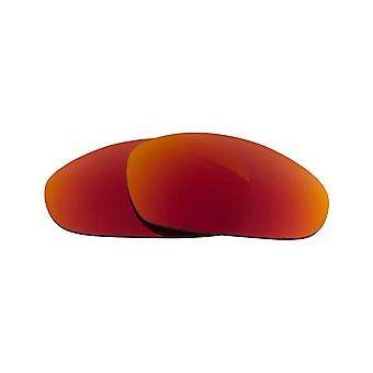 JULIET Polarized Lenses & Accessories Red Mirror & Red by SEEK fits OAKLEY