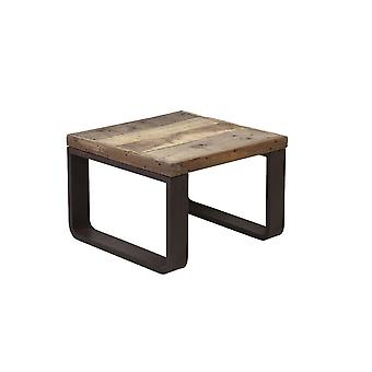 Light & Living Coffee Table 65x65x45 Cm CUENCA Railway Wood
