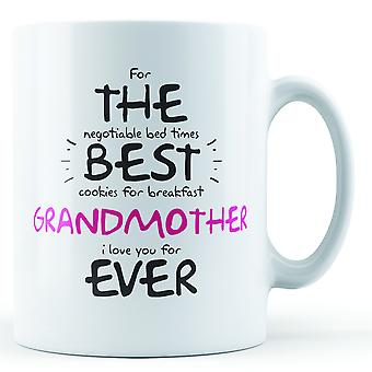 For The Best Granmother Ever - Printed Mug