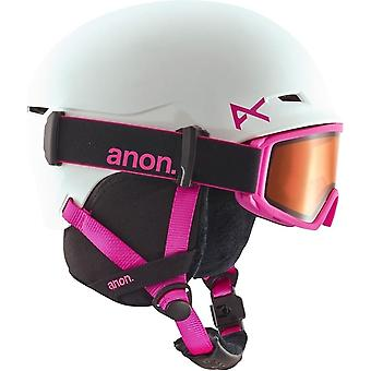 Anon Define Kids Helmet - White/Pink