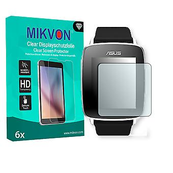 Asus VivoWatch Screen Protector - Mikvon Clear (Retail Package with accessories) (intentionally smaller than the display due to its curved surface)
