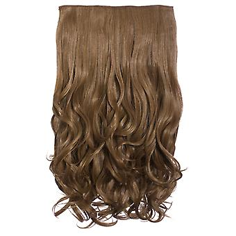 IKRUSH Womens Volume intenso ClipHair Extensions - Auburn Mix