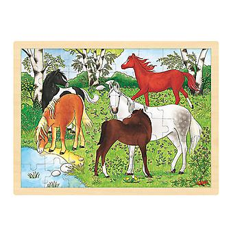 Tre puslespill-hest, 48st.