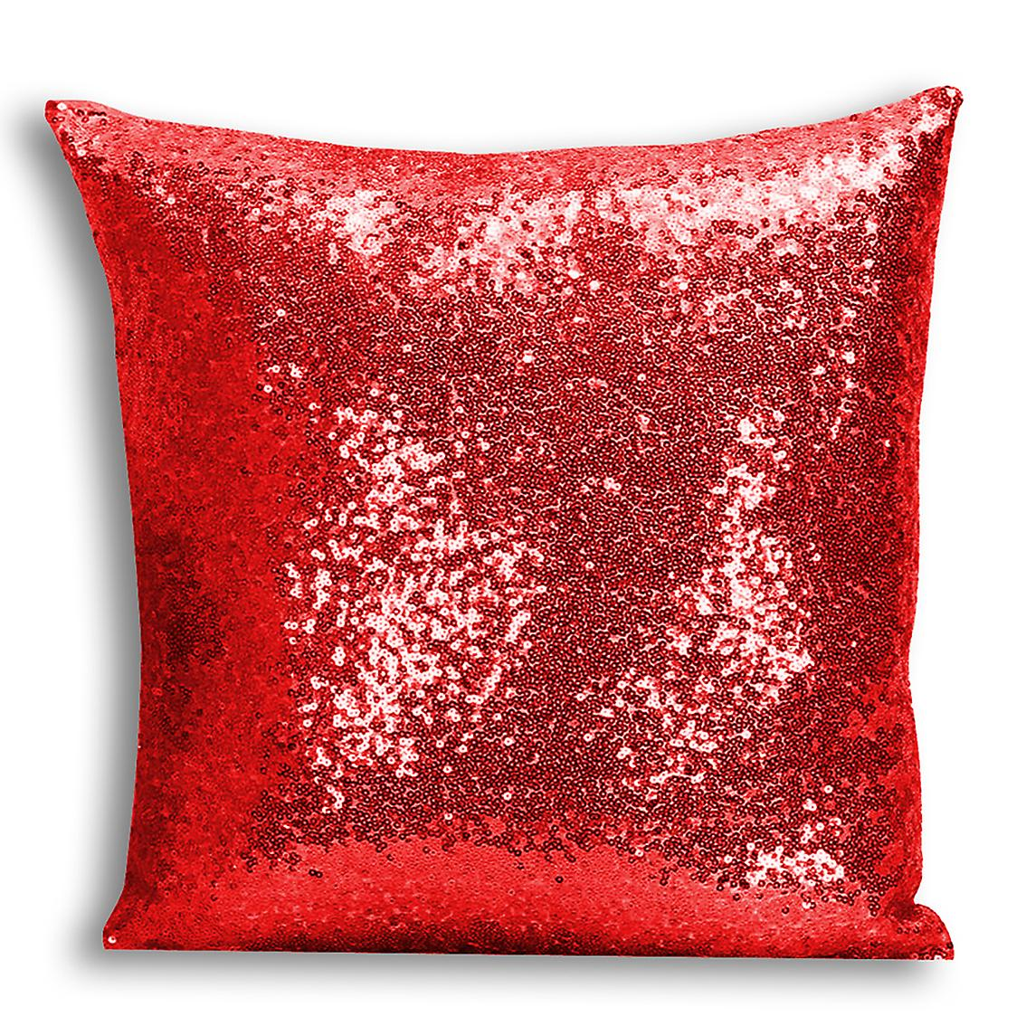 I 4 Cover Inserted Home Sequin Red Design CushionPillow Decor For tronixsUnicorn Printed With FKcJTl1