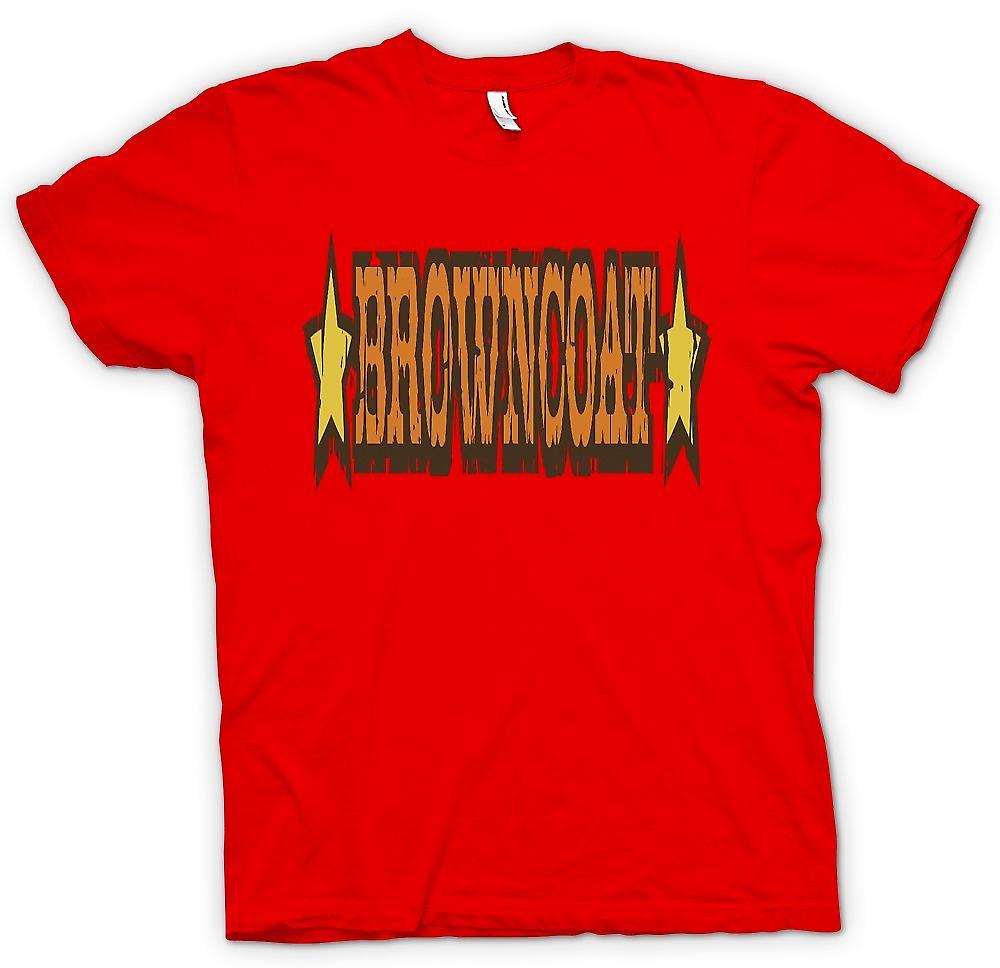Heren T-shirt - Browncoat - Firefly geïnspireerd