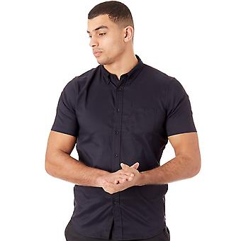 Oakley Blackout Solid Woven Short Sleeved Shirt