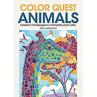 Color Quest Animals: Extreme Challenges to Complete and Color