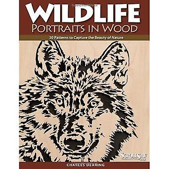 Vilda djur porträtt i trä: 30 mönster att fånga skönheten i naturen (Scroll Saw träbearbetning & hantverk bok)