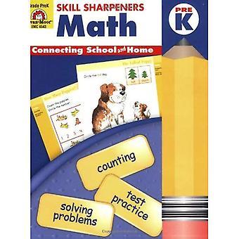 Skill Sharpeners Math, Pre-kindergarten