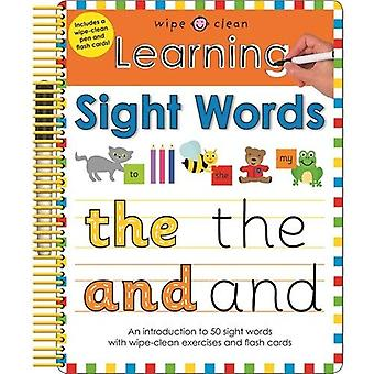 Learning Sight Words (Wipe Clean Learning)