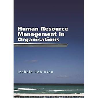 Human Resource Management in Organisations