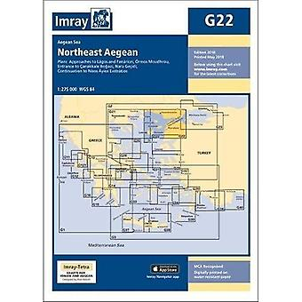 Imray Chart G22: Northeast Aegean Sea (G Series)
