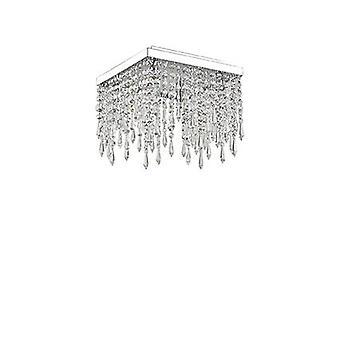 Ideal Lux - Giada Clear Flush Ceiling Fixture IDL098777