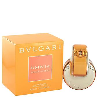 Omnia Indian Garnet by Bvlgari Eau De Toilette Spray 1.4 oz / 41 ml (Women)