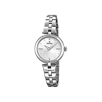 Festina ladies Quartz analogue watch with stainless steel band F20307/1