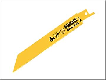 DEWALT Cobalt Steel Sabre Blade General Purpose 152mm Pack of 5