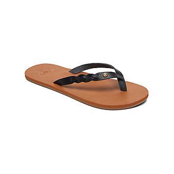 Roxy Womens Liza II Casual Thong Beach Sandals - Black