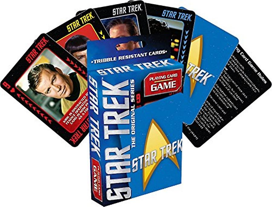 Star Trek playing card game    (nm)