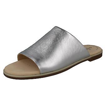 a3355b6f9a09 Ladies Clarks Peep-Toe Mule Sandals Bay Petal