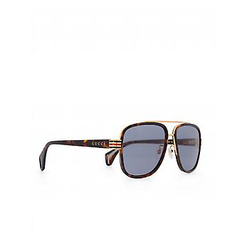 Gucci Eyewear Metal Bridge Acetate Sonnenbrillen
