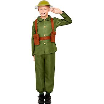 WW1 army child costume soldier soldier costume Carnival