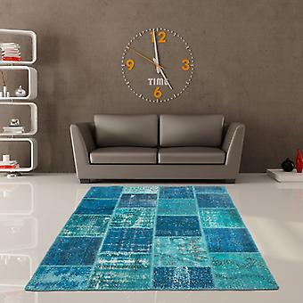 Rugs -Jumble Patchwork - 560 Turquoise