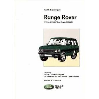 Range Rover 1992 to 1994 MY Plus Classic 1995 MY - Part No RTC9961CB b