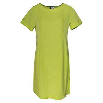 Vlt's By Valentina's Linen Short Sleeve Lightweight Dress