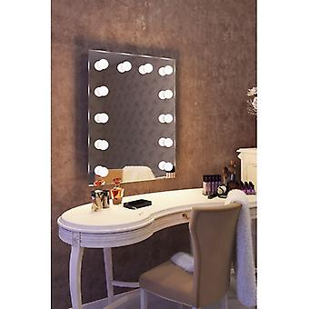 Diamond X Wallmount Hollywood Audio miroir avec LED réglable k90LEDaud