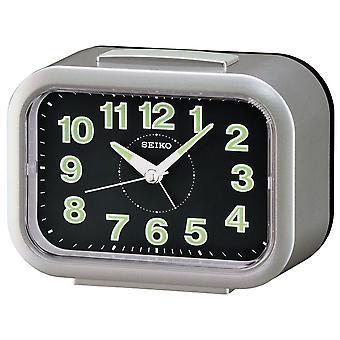 Seiko väckar klocka analog-silver (QHK026S)