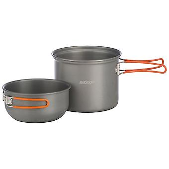 Vango Grey 1 Person Hard Anodised Cook Kit